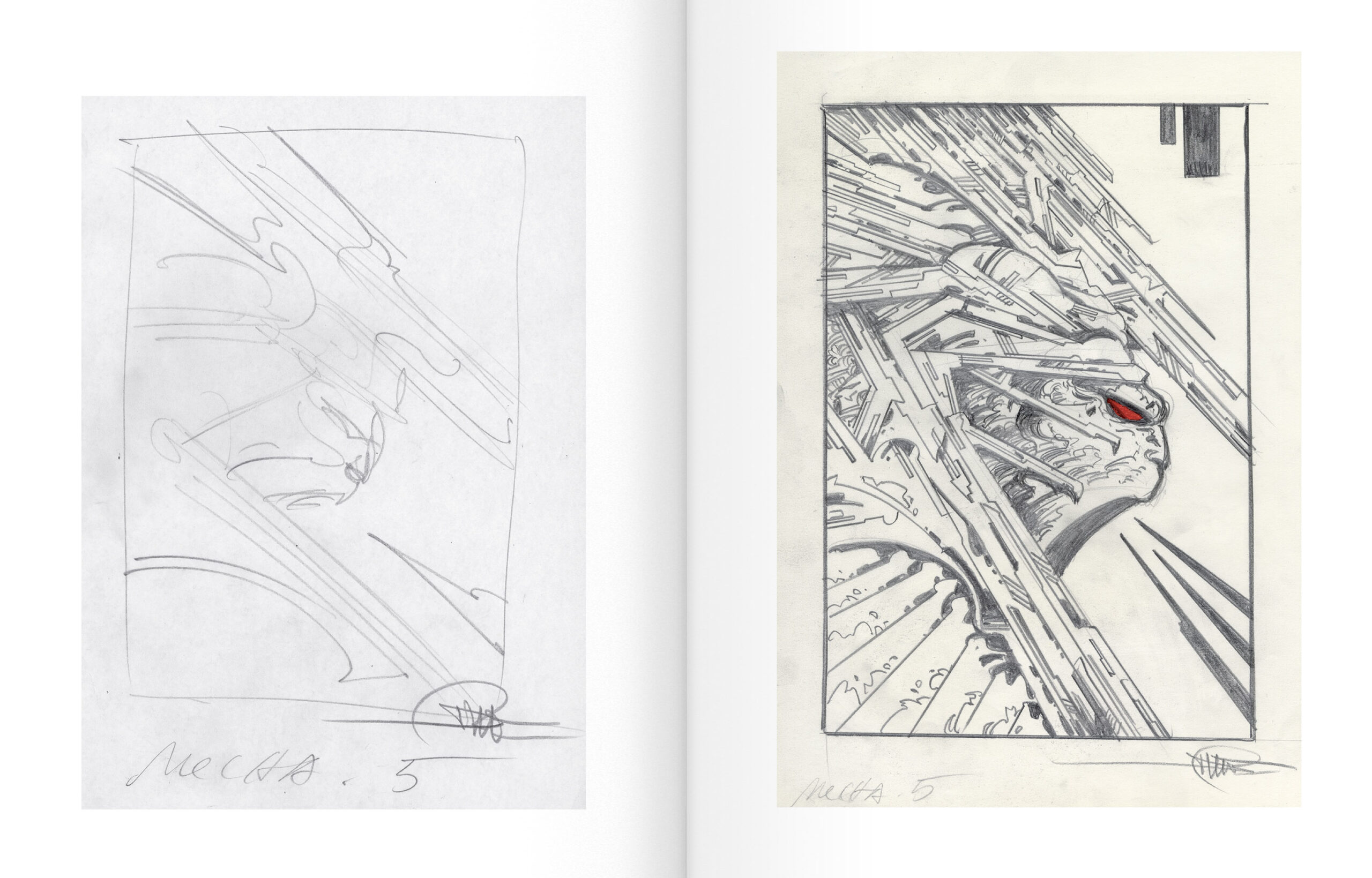 Druillet - Mecha-Sloane - pages intérieures
